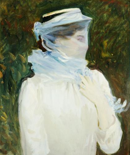 Sally Fairchild, C. 1890. by John Singer Sargent