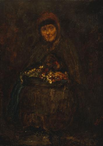 La Mere Gerard, 1858 by James McNeil Whistler