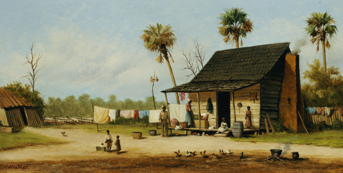 Laundry Day by William Aiken Walker