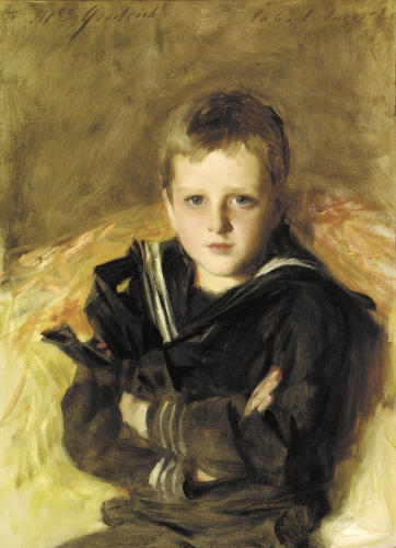 Portrait Of Caspar Goodrich by John Singer Sargent