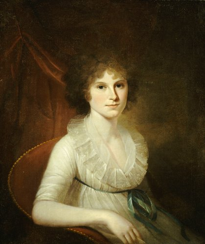 Portrait Of Ann Emily Rush by James Peale
