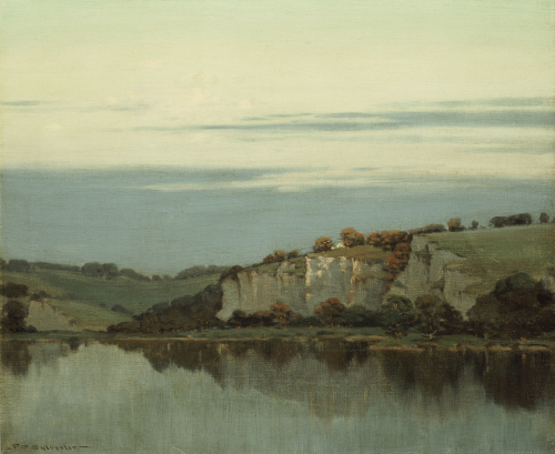 Soft Twilight Lingers, C.1905. by Frederick Oakes Sylvester