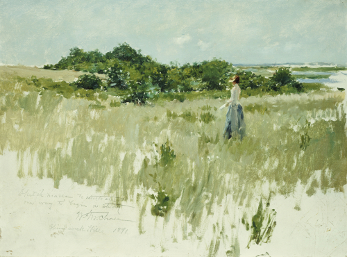 Shinnecock Hills, 1891 by William Merritt Chase