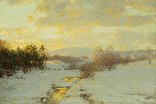 Twilight by Walter Launt Palmer