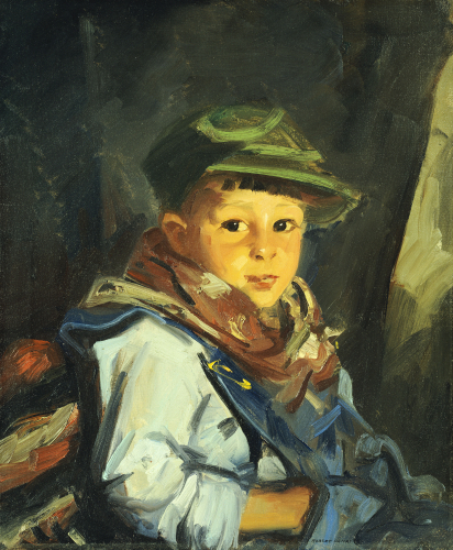 Boy With Green Cap (Chico), 1922. by Robert Henri