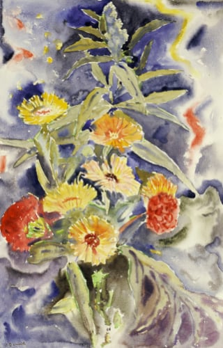 Spray Of Flowers by Charles Henry Demuth