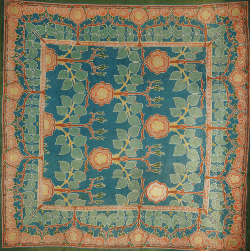 The Rose', A Donegal Carpet, Manufactured By Alexander Morton & Co by Charles Francis Annesley Voysey