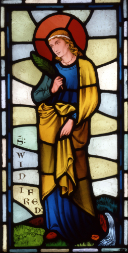 Saint Winifred by William Burges