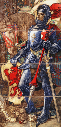 St George And The Dragon by Stanley Thorogood