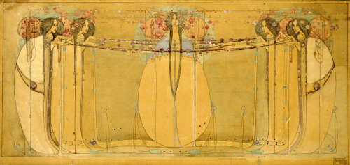The May Queen, 1900. by Margaret Macdonald Mackintosh