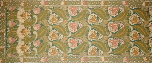 An Arts And Crafts Curtain Design Attributed To Silver Studios. by Christie's Images
