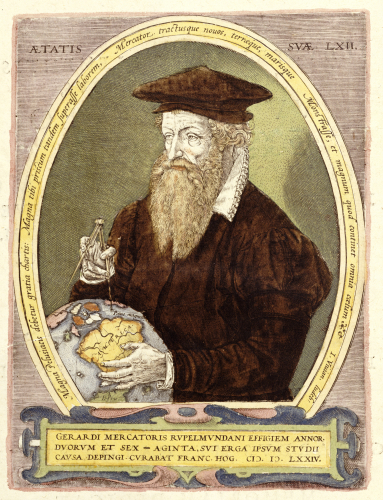 Portrait Of Gerard Mercator by Christie's Images