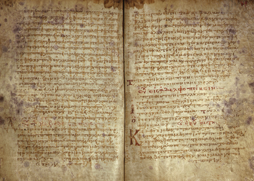 The Archimedes Palimpsest. ff. 88v-98r by Christie's Images