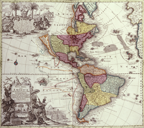 Atlas Geographicus, 1725. by Georg Matthaus Seutter