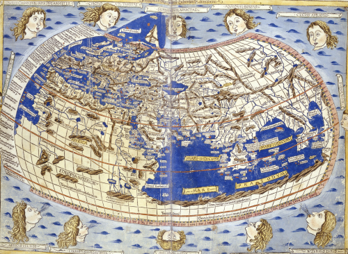 Cosmographia, Hand Coloured Woodcut Map by Christie's Images