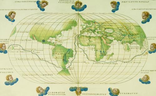 Battista Agnese: Portolan Atlas 10, Venice 1544 by Christie's Images
