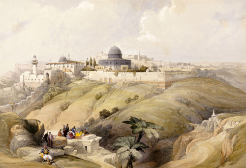 View of Jerusalem by David Roberts