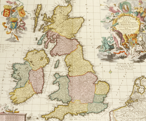 Composite Atlas Of Great Britain, Circa 1760 by Christie's Images