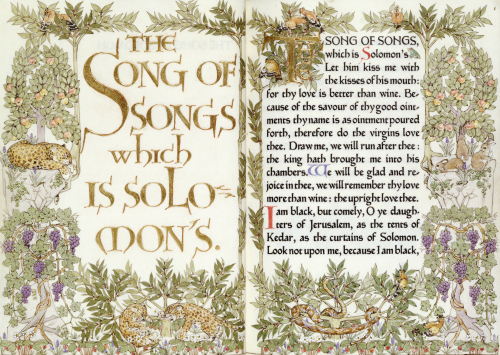 The Song Of Solomon, 1902 by Christie's Images