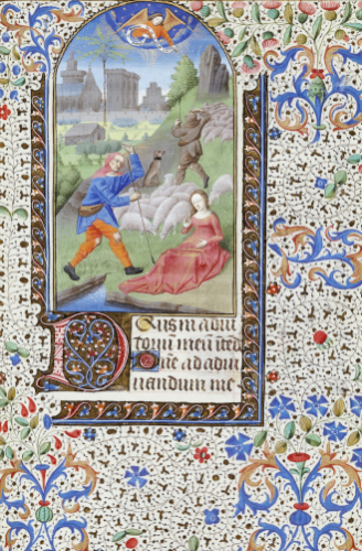 Annunciation To The Shepherds, 1470 by Christie's Images