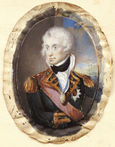 Portrait Of Horatio Nelson (1758-1805) by Christie's Images