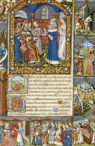 Psalter, With Short Hours Of The Virgin by Christie's Images