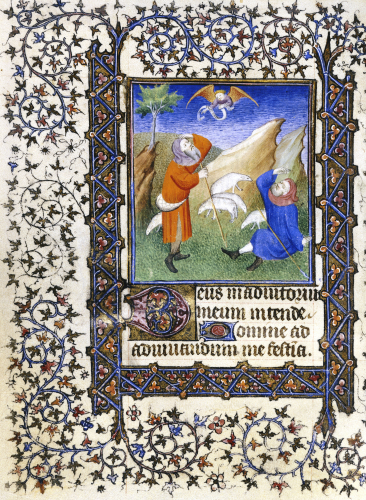 Annunciation To The Shepherds, Ca.1450 by Christie's Images