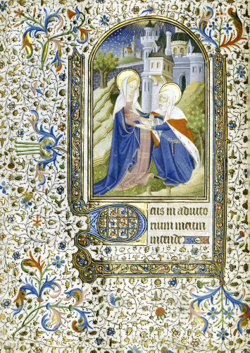 The Betrayal. Book Of Hours, In Latin, C.1430 by Christie's Images