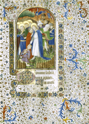 Pieta. Book Of Hours, In Latin, C.1430 by Christie's Images