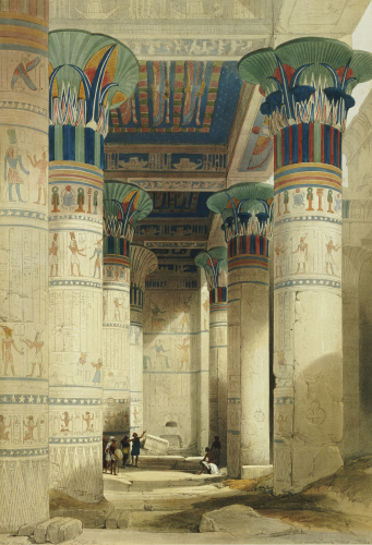 Egyptian View by David Roberts