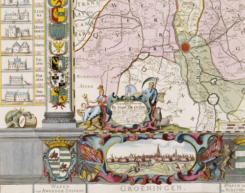Large Wall Map Of Groningen, C.1746. by Christie's Images