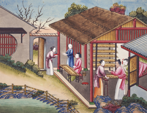 The Process Of Manufacturing Silk In 24 Stages by Christie's Images