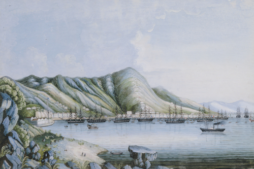 View Of Hong Kong. Chinese School by Christie's Images
