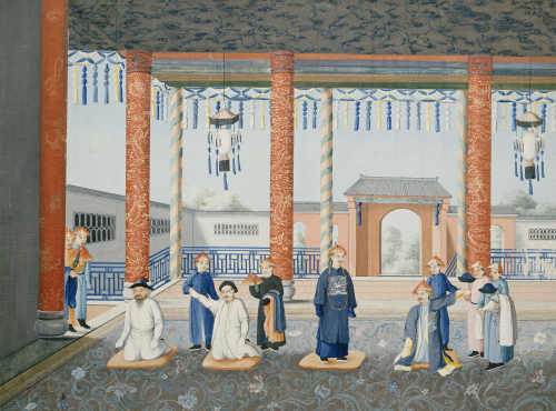 Scenes From Imperial Court Life by Christie's Images