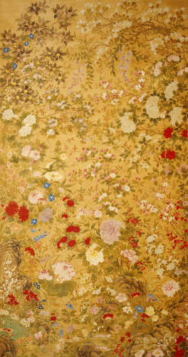 One Hundred Flowers by Jiang Tingxi