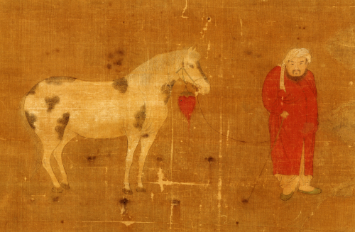Horse And Foreign Groom by Christie's Images