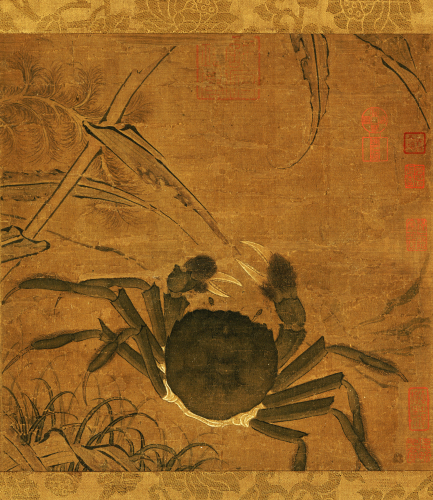 Crab Among Grass And Bamboo by Christie's Images