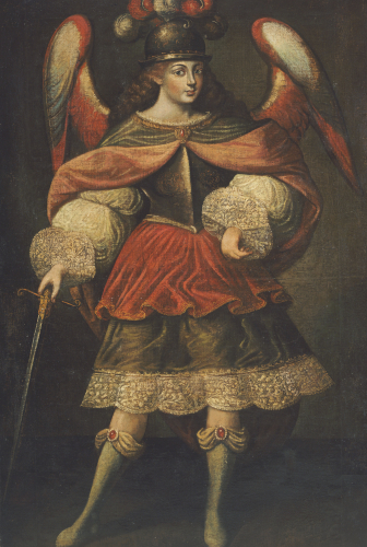 Archangel Miguel by Christie's Images