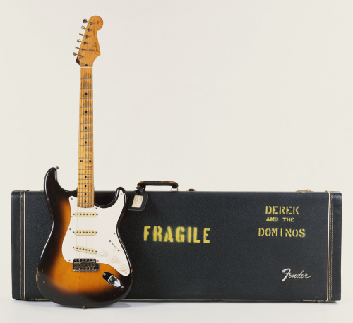 Brownie - A 1956 Fender Stratocaster Guitar by Christie's Images