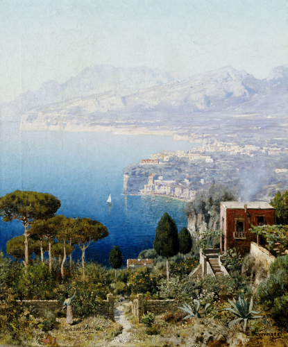 Costa Sorrentina by Edmund Berninger