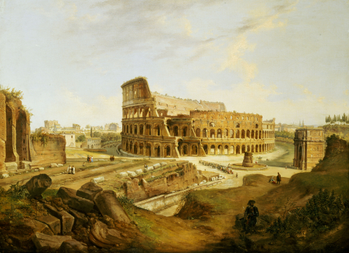 The Colisseum, Rome by Jean Victor Louis Faure