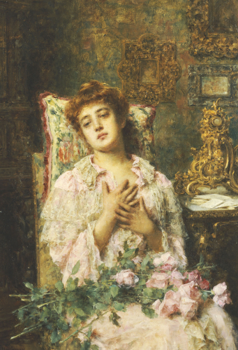 Love Offerings by Alexei Alexeiewitsch Harlamoff