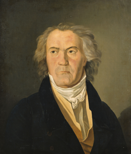 Portrait Of Ludwig Van Beethoven, 1823 by Ferdinand Georg Waldmüller