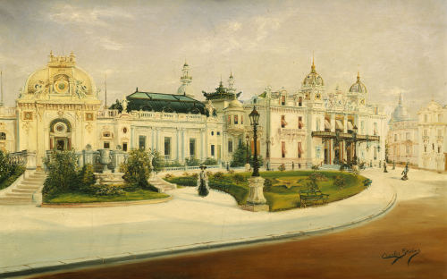 The Casino, Monte Carlo by Charles Stevens