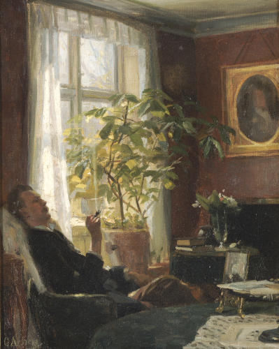 By The Window by Georg Nicolai Achen