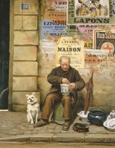 The Restorer by Adolf Schill