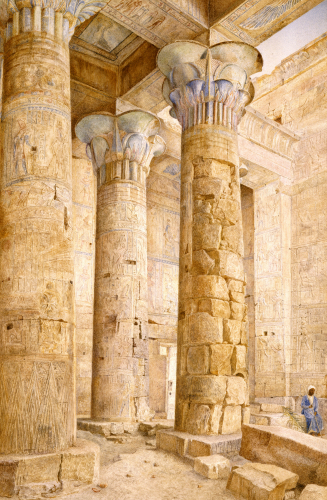 The Temple Of Philae, Egypt, 1889 by Henry Roderick Newman