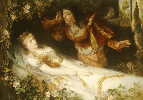 Sleeping Beauty, 1881 by Richard Eisermann