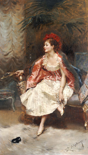 After The Ball by Raimundo De Madrazo Y Garreta