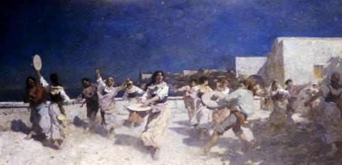La Tarantella by Otto Ludwig Sinding